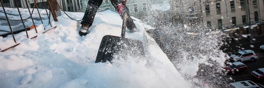 Инструкция по очистке снега с кровли